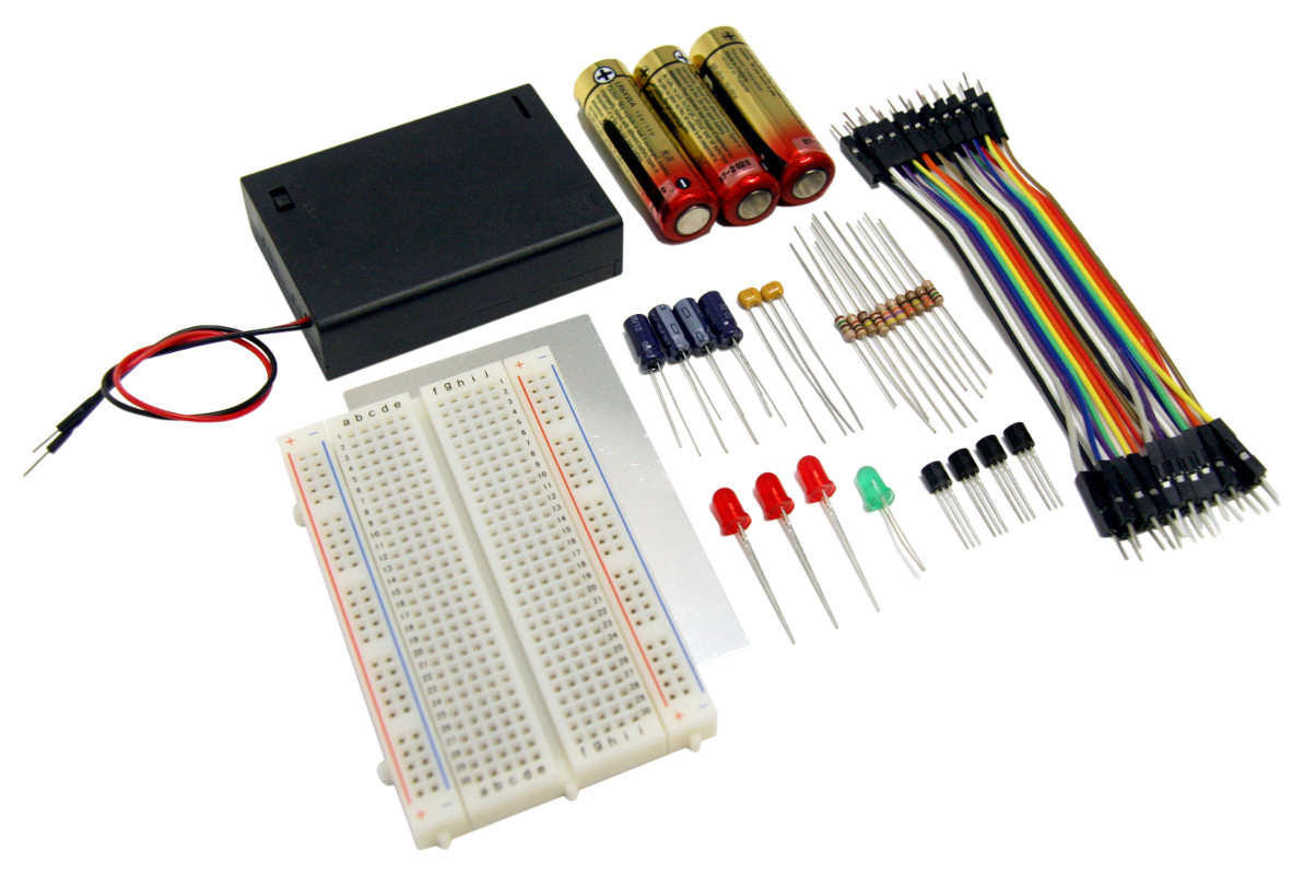Jrg01 Kit Junior Genius 1 Blinky Lights Busboard Breadboards Are Used To Prototype Electronic Circuits Without Having Features