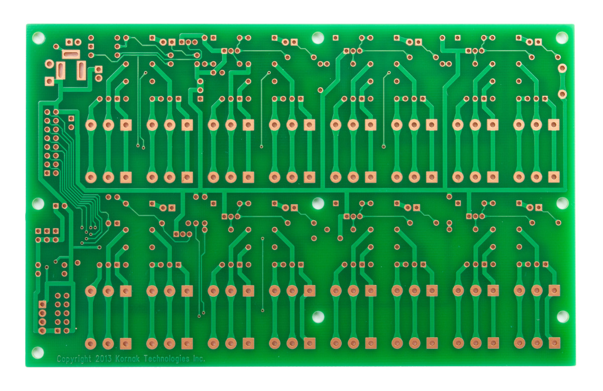 PCB-RELAY8 | Octal Relay Board | BusBoard Prototype Systems on spdt relay wiring, plug in relay wiring, dpdt relay wiring, 8 pin relay wiring,